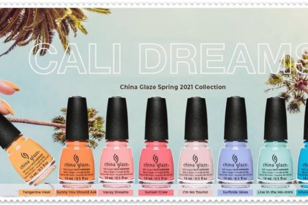 China Glaze Cali Dreams Spring 2021 Collection Review & Swatches